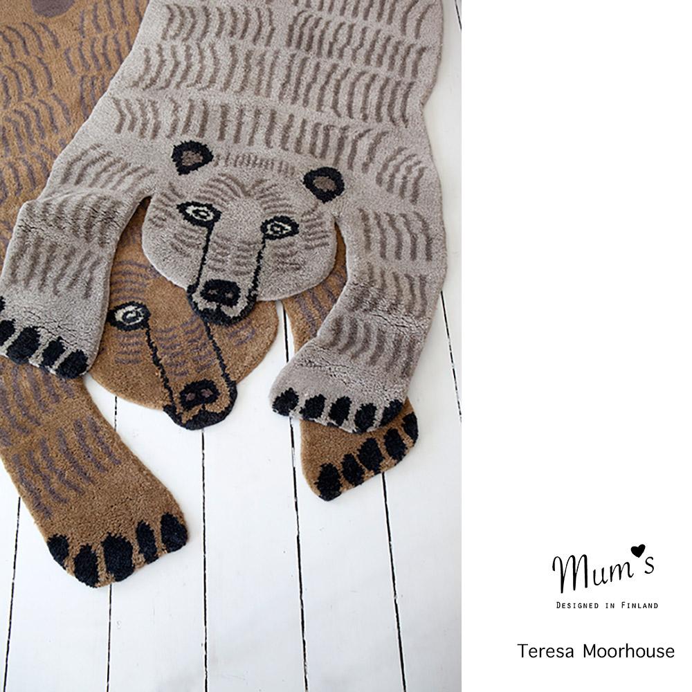 Mid Brown Bear by Teresa Moorhouse
