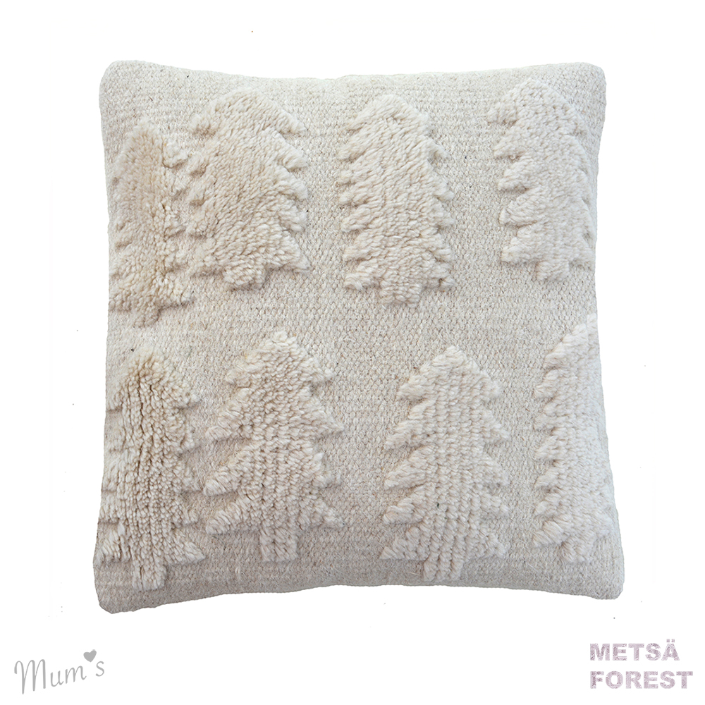 Natural forest cushion