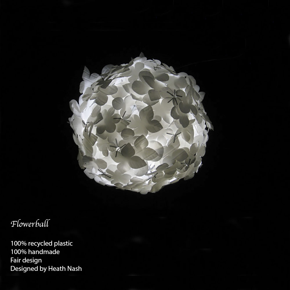 Flowerball white, design Heath Nash