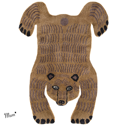 Mid Brown luxurywool Bear, Teresa Moorhouse