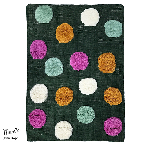 Pipana rug, mix colour