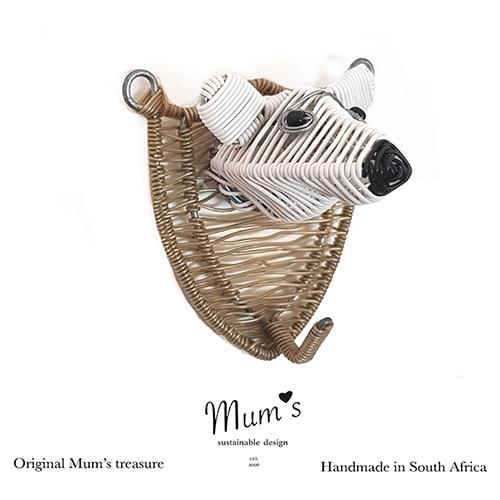 Mum's ZOO, Polar bear wallhook