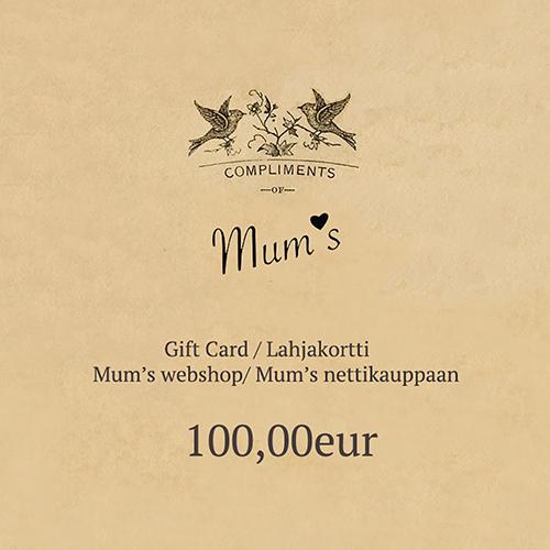 100eur eLahjakortti / eGift Card