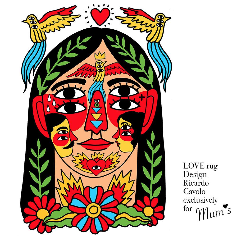 Love 2 by Ricardo Cavolo